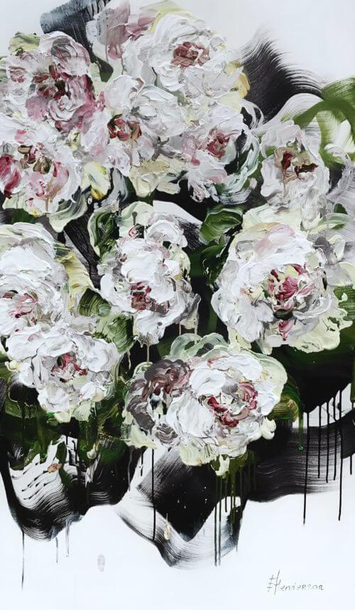 Elena Henderson Forever Blossoms 3 60x36