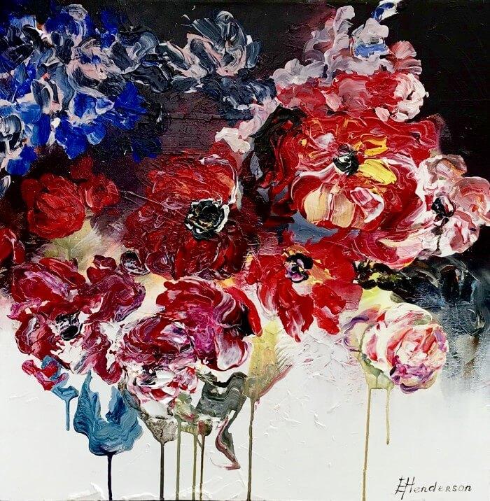 Elena Henderson In Full Bloom Series 12 26x26