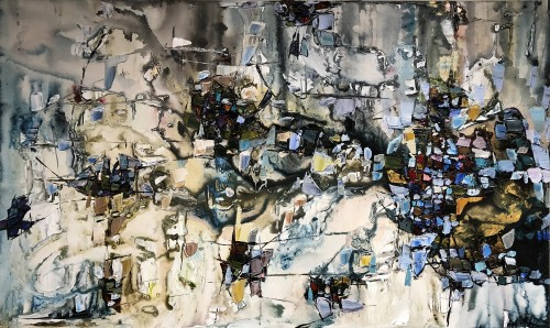 Maya Eventov Abstract 4 36x60