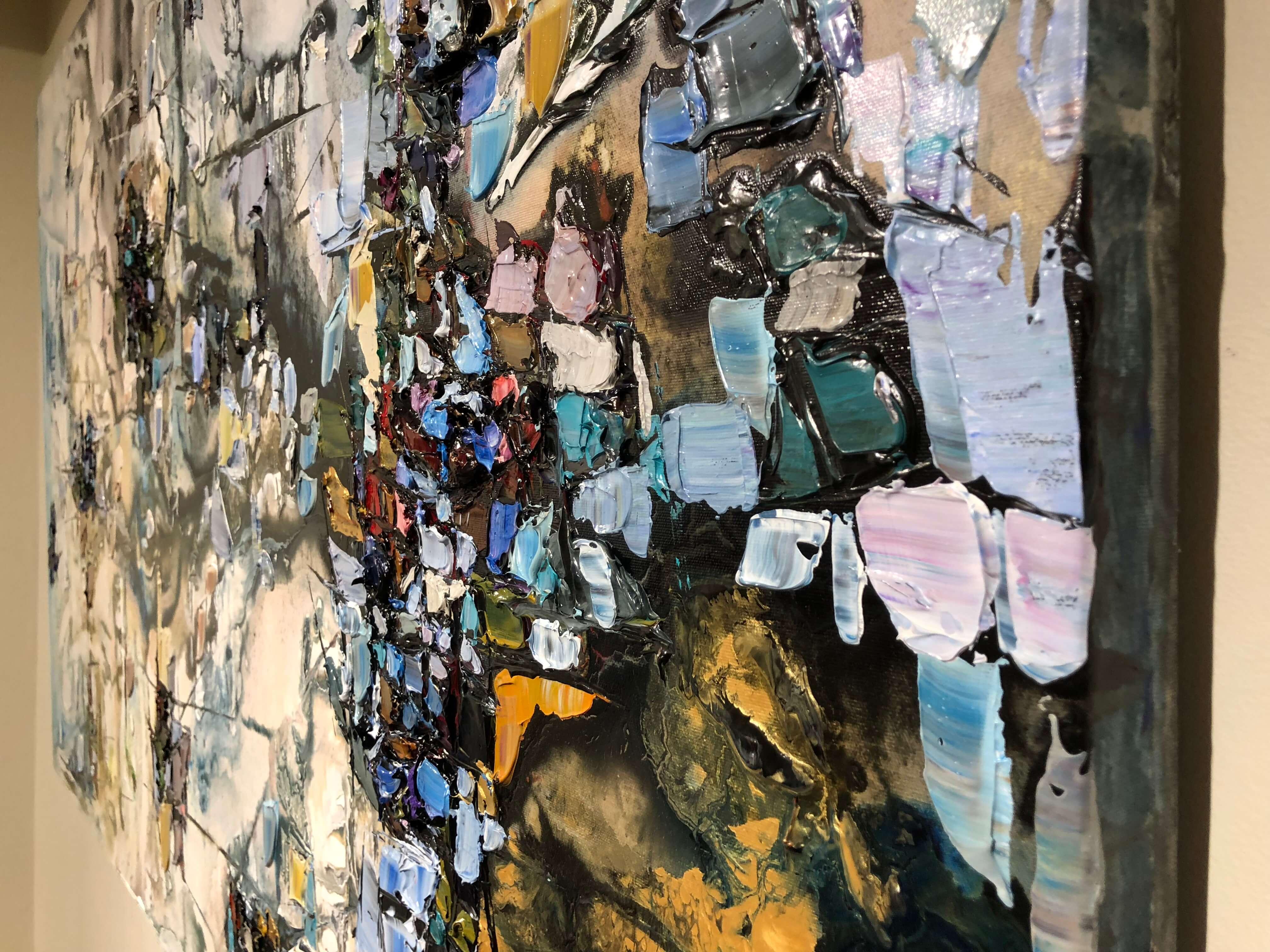 Maya Eventov Abstract 4 36x60 Detail 1