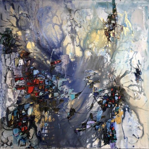 Maya Eventov Abstract Mystique 2 48x48