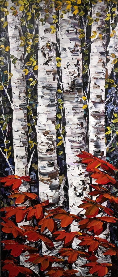 Maya Eventov Night Birch 2 60x24