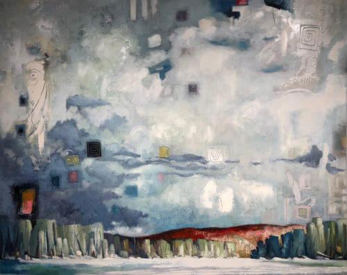 Brian Lorimer Frozen Sky 48x60