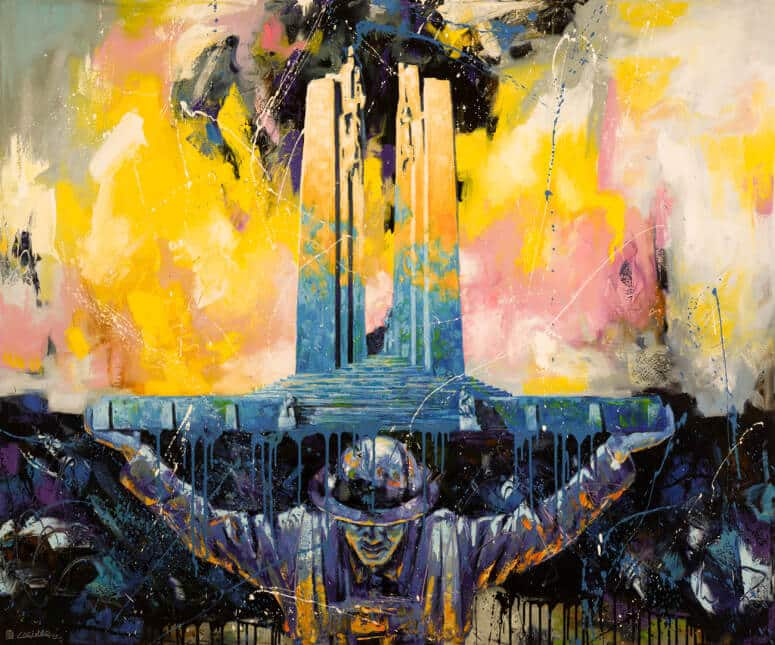 Brian Lorimer RESURRECTION 60x72