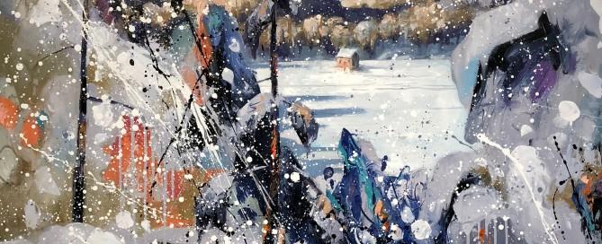 Brian Lorimer Winter Whole 48x48