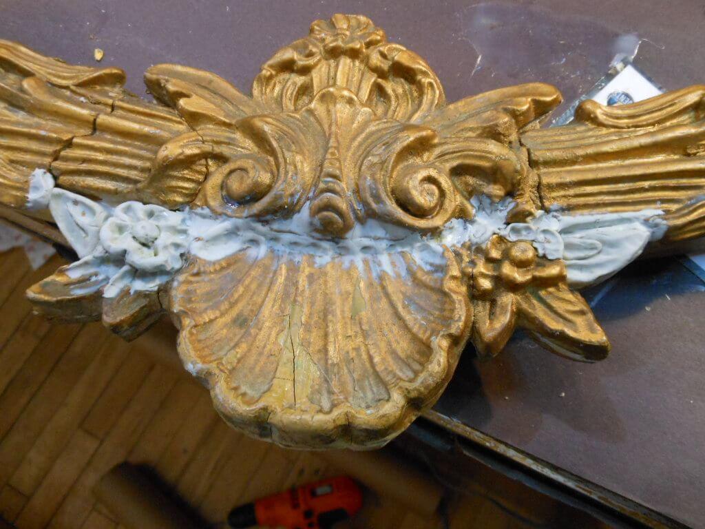 Restoration of Mirror Frame 8