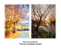 The Art of Mixing Colors Workshop 2018