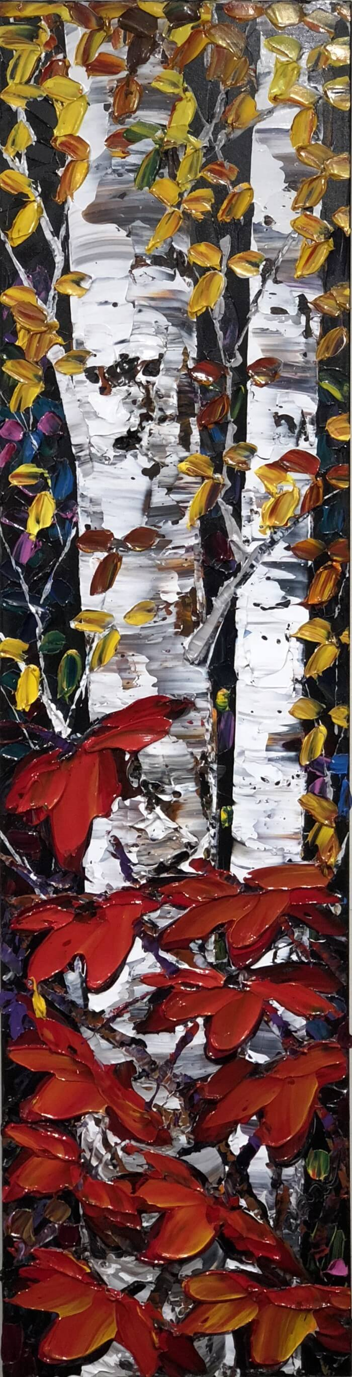 Maya Eventov Night Birch 48x12