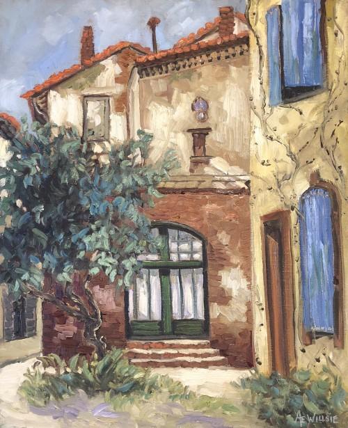Ann Willsie Back Streets of Arles 20x16