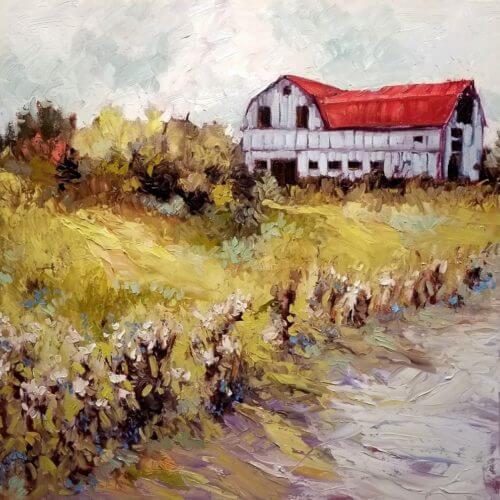 Ann Willsie Country Roads 24x24