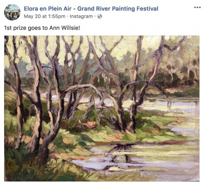 Best Water Sam Paonessa Plein Air 2018 Winner
