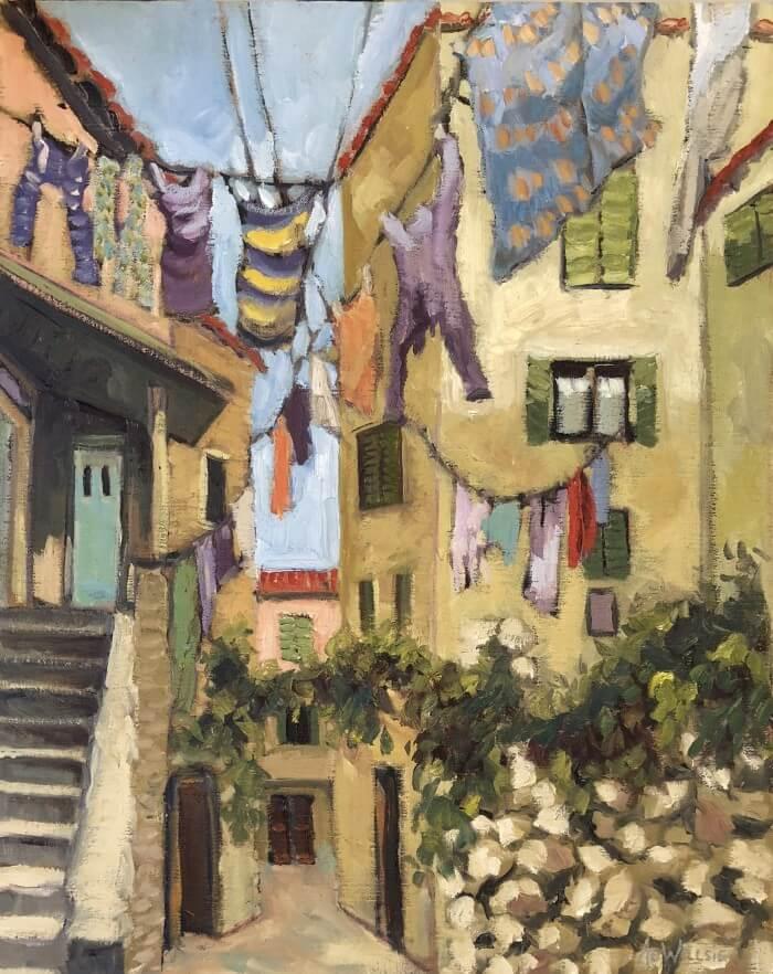Ann Willsie Laundry Day 2 20x16