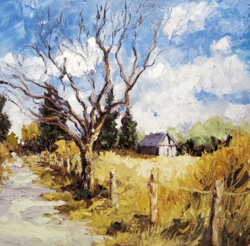 Ann Willsie The Noon Day Sun 24x24