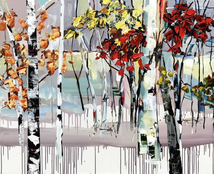 Elena Henderson Autumn Wonderland series 1 48x60