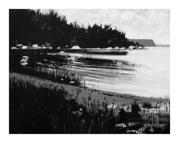 RD Murray Sandy Shore BW 16x20