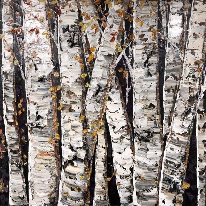 Maya Eventov Birch Family 36×36