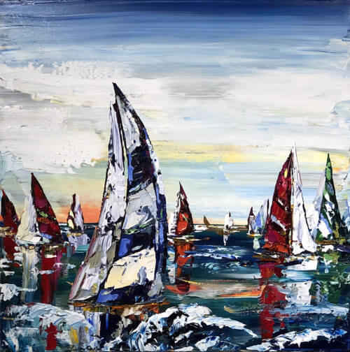 Maya Eventov Sailing Boats 36x36