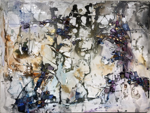Maya Eventov Abstract 4 36x48