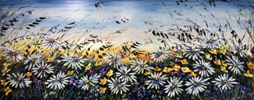 Maya Eventov Floral Daisy Meadow 24x60